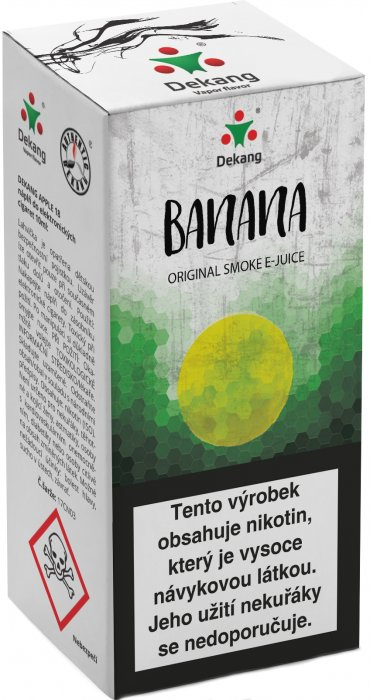Liquid Dekang Banana 10ml - 3mg (banán)