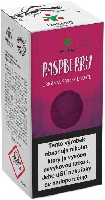 Liquid Dekang Raspberry 10ml - 3mg (Malina)