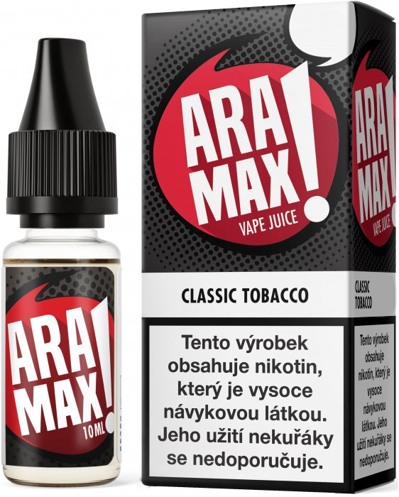 Liquid ARAMAX Classic Tobacco 10ml-6mg