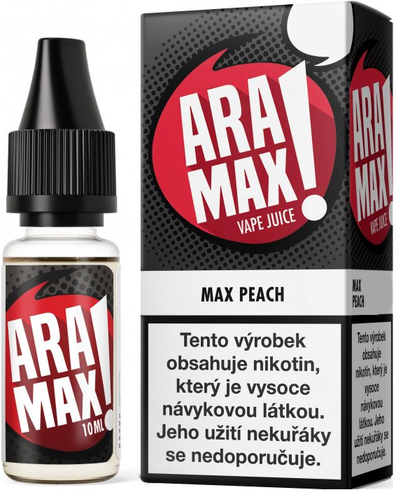 Liquid ARAMAX Max Peach 10ml-0mg