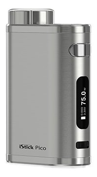 iSmoka-Eleaf iStick Pico TC 75W easy Grip Brushed Silver
