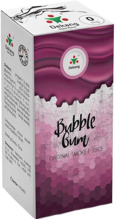 Liquid Dekang Menthol Bubble Gum 10ml - 0mg (Mentolová žvýkačka)