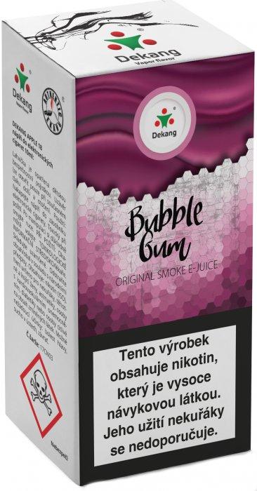 Liquid Dekang Menthol Bubble Gum 10ml - 6mg (Mentolová žvýkačka)