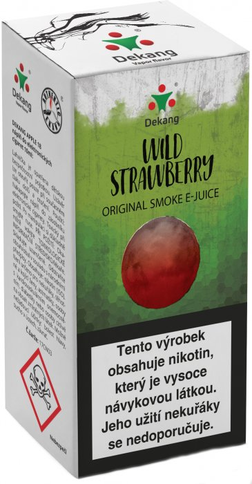 Liquid Dekang Wild Strawberry 10ml - 18mg (Lesní jahoda)
