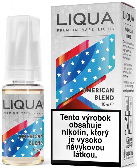 Liquid LIQUA SK Elements American Blend 10ml-3mg (Americký míchaný tabák)