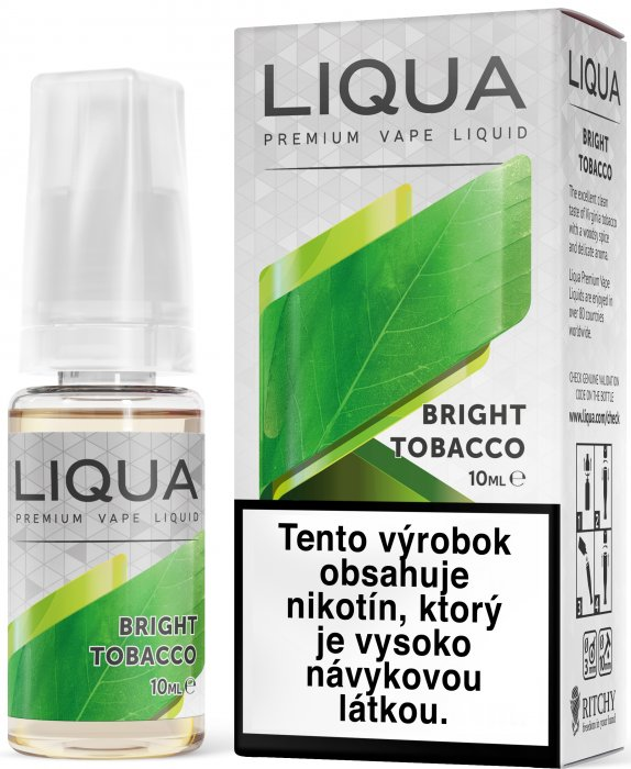 Liquid LIQUA SK Elements Bright Tobacco 10ml-3mg (čistá tabáková příchuť)