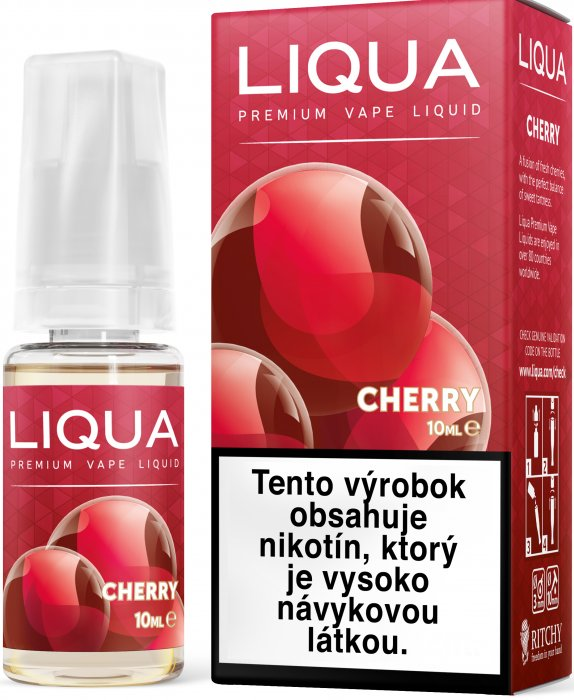 Liquid LIQUA SK Elements Cherry 10ml-3mg (třešeň)