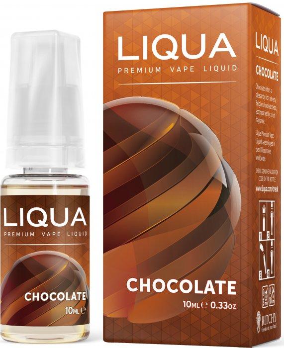 Liquid LIQUA SK Elements Chocolate 10ml-0mg (čokoláda)