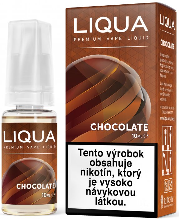 Liquid LIQUA SK Elements Chocolate 10ml-3mg (čokoláda)
