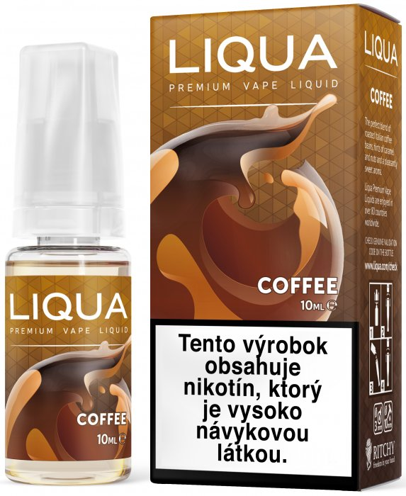 Liquid LIQUA SK Elements Coffee 10ml-3mg (Káva)