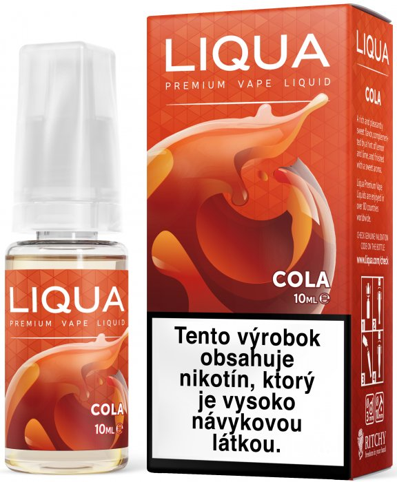 Liquid LIQUA SK Elements Cola 10ml-3mg (Kola)