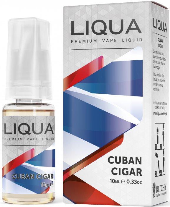 Liquid LIQUA SK Elements Cuban Tobacco 10ml-0mg (Kubánský doutník)