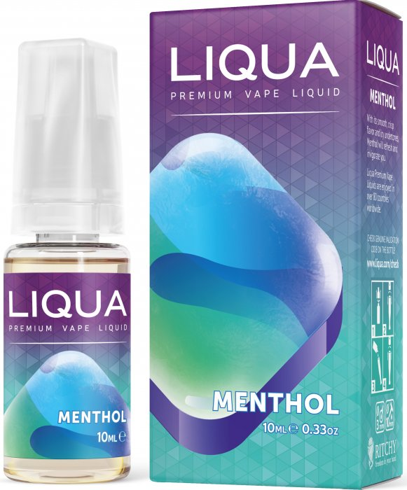 Liquid LIQUA SK Elements Menthol 10ml-0mg (Mentol)
