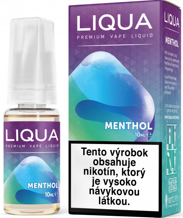 Liquid LIQUA SK Elements Menthol 10ml-3mg (Mentol)