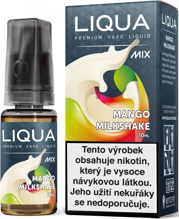 Liquid LIQUA CZ MIX Mango Milkshake 10ml-6mg