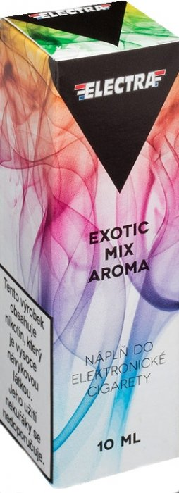 Liquid ELECTRA Exotic mix 10ml - 18mg (Mix exotického ovoce)