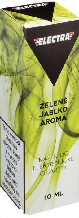 Liquid ELECTRA Green apple 10ml - 0mg (Zelené jablko)