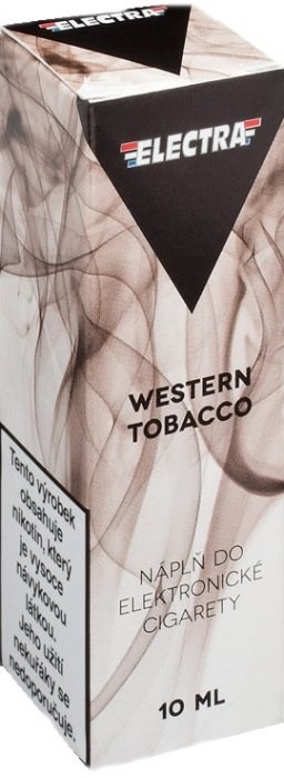 Liquid ELECTRA Western Tobacco 10ml - 20mg