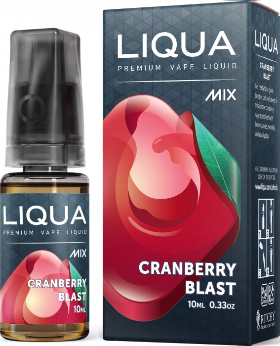 Liquid LIQUA CZ MIX Cranberry Blast 10ml-0mg