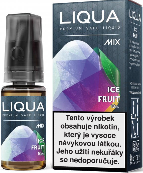 Liquid LIQUA CZ MIX Ice Fruit 10ml-18mg