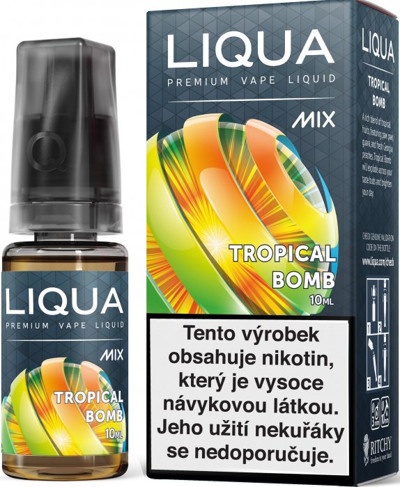 Liquid LIQUA CZ MIX Tropical Bomb 10ml-12mg
