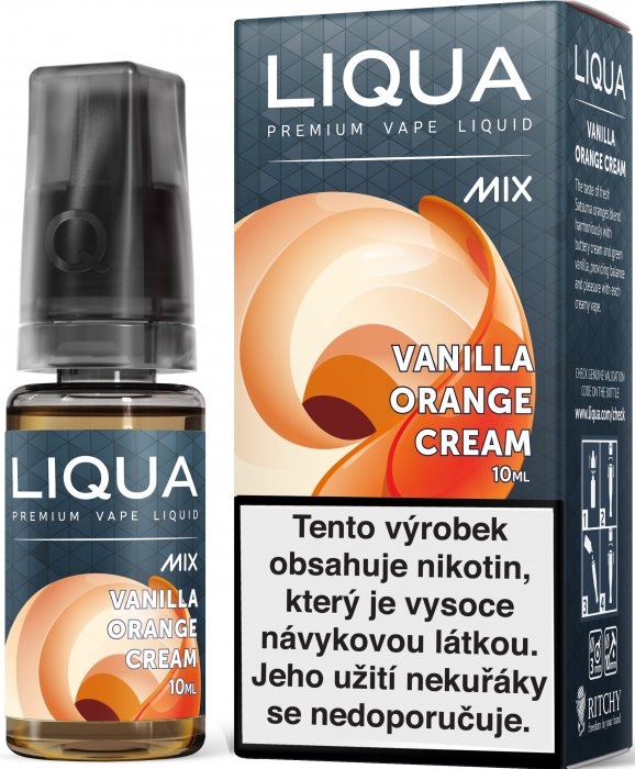 Liquid LIQUA CZ MIX Vanilla Orange Cream 10ml-6mg