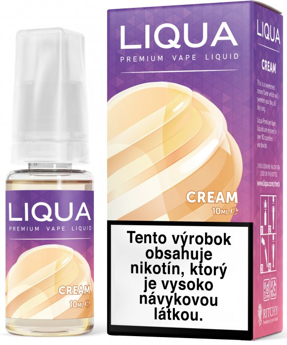 Liquid LIQUA SK Elements Cream 10ml-3mg (Smetana)