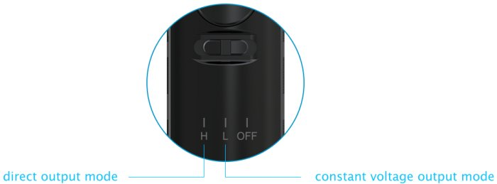 Joyetech eGo AIO ProBox Grip 2100mAh Rubber Black