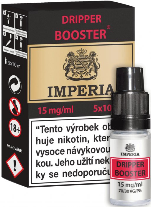 Dripper Booster CZ IMPERIA 5x10ml PG30-VG70 15mg