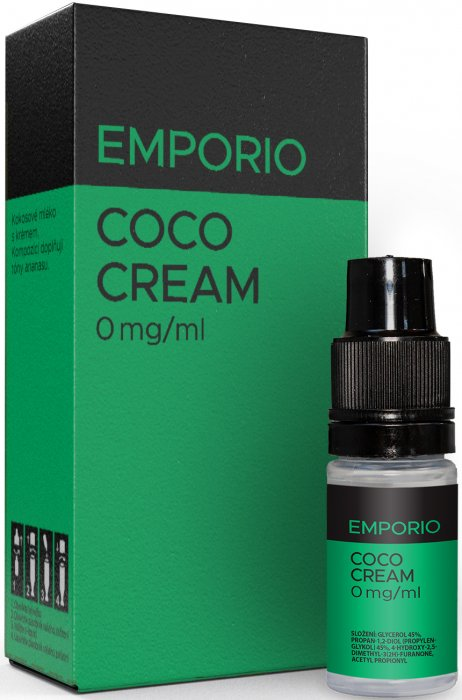 Liquid EMPORIO Coco Cream 10ml - 0mg