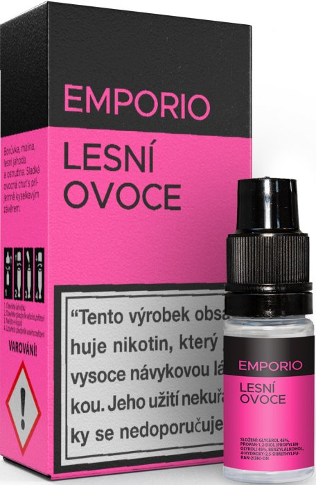 Liquid EMPORIO Forest fruit 10ml - 18mg