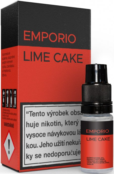 Liquid EMPORIO Lime Cake 10ml - 6mg
