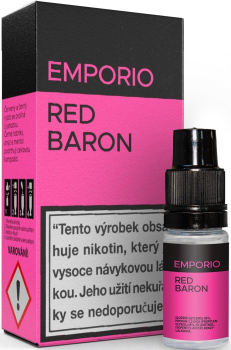Liquid EMPORIO Red Baron 10ml - 3mg