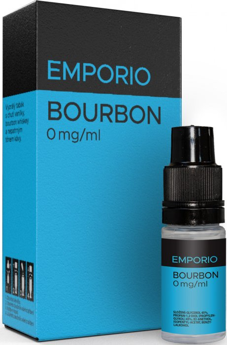 Liquid EMPORIO Bourbon 10ml - 0mg