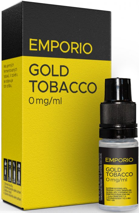 Liquid EMPORIO Gold Tobacco 10ml - 0mg
