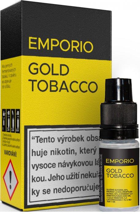 Liquid EMPORIO Gold Tobacco 10ml - 1,5mg