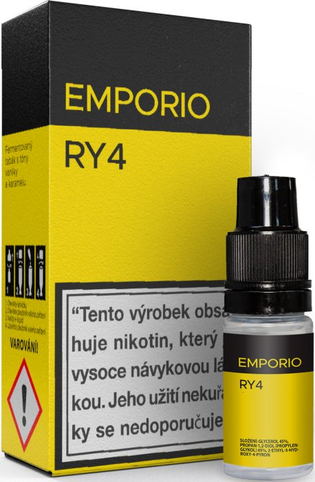 Liquid EMPORIO RY4 10ml - 18mg