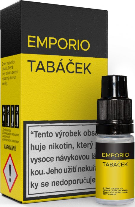 Liquid EMPORIO Tobacco 10ml - 18mg