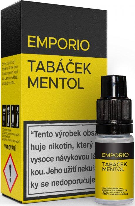 Liquid EMPORIO Tobacco - Menthol 10ml - 1,5mg