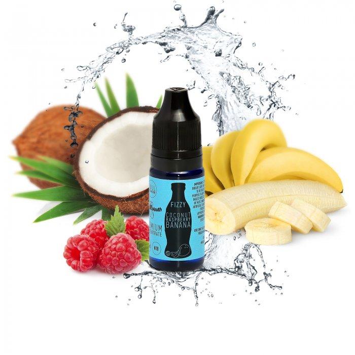 Příchuť Big Mouth FIZZY - Coconut, Raspberry, Banana