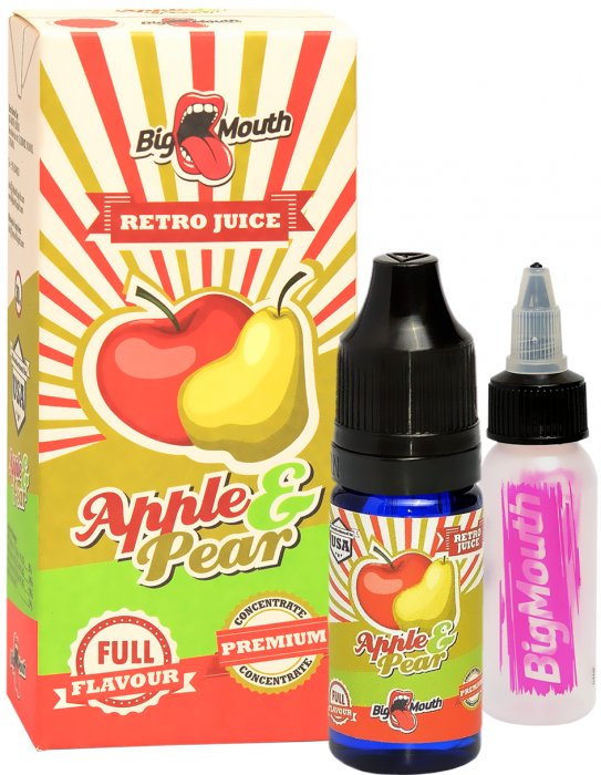Příchuť Big Mouth RETRO - Apple and Pear