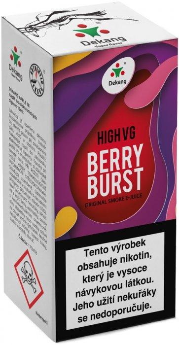 Liquid Dekang High VG Berry Burst 10ml - 1,5mg (Lesní ovoce s jablkem)