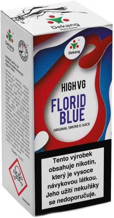 Liquid Dekang High VG Florid Blue 10ml - 3mg (Ledové borůvky)