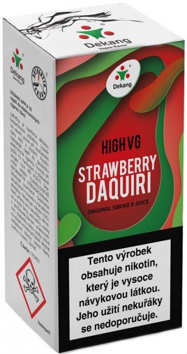 Liquid Dekang High VG Strawberry Daquiri 10ml - 6mg