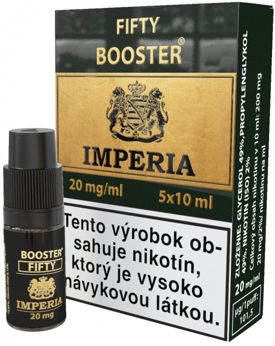 Fifty Booster SK IMPERIA 5x10ml PG50-VG50 20mg