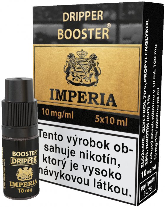 Dripper Booster SK IMPERIA 5x10ml PG30-VG70 10mg