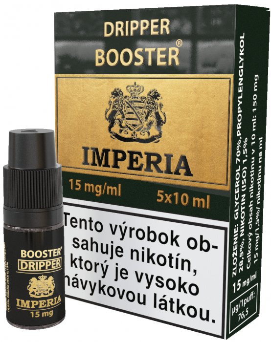 Dripper Booster SK IMPERIA 5x10ml PG30-VG70 15mg