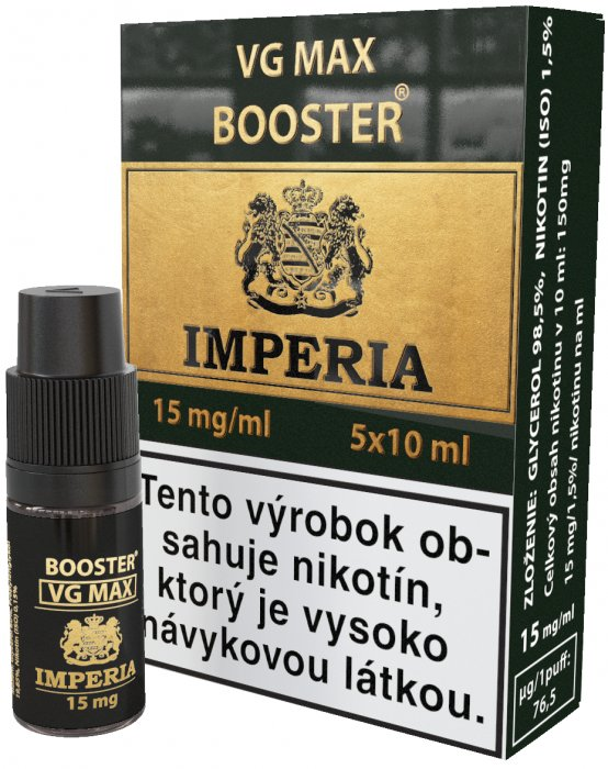 VG Max Booster SK IMPERIA 5x10ml VG100 15mg