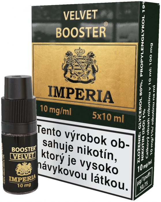Velvet  Booster SK IMPERIA 5x10ml PG20-VG80 10mg