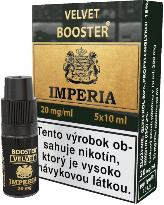 Velvet  Booster SK IMPERIA 5x10ml PG20-VG80 20mg